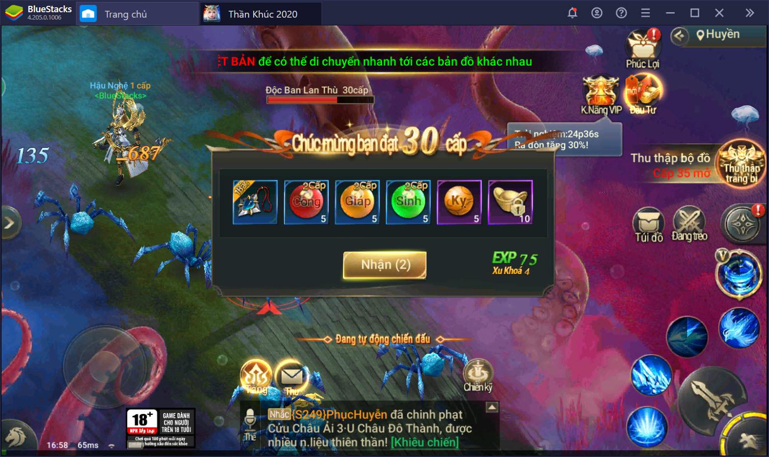 Cùng chơi Thần Khúc 2020, một game giải trí tuyệt vời trên BlueStacks
