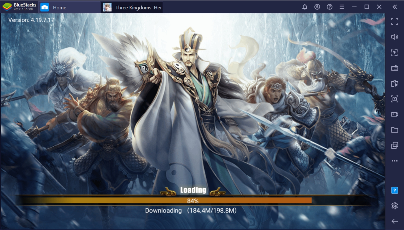 How To Play Three Kingdoms: Heroes Saga On PC With BlueStacks