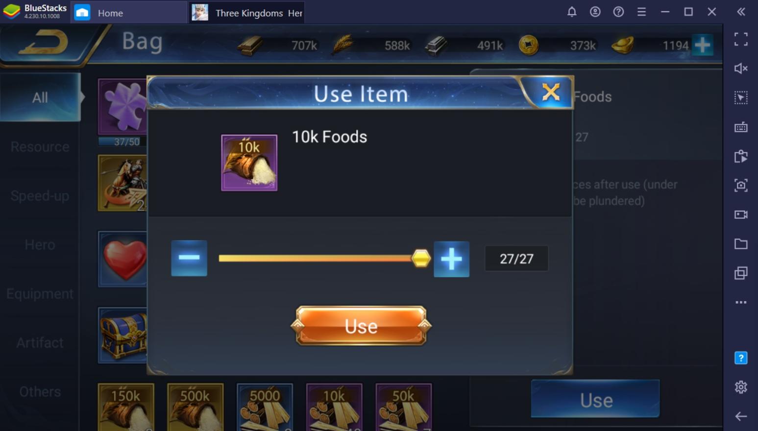 Three Kingdoms: Heroes Saga on PC – Economy Guide
