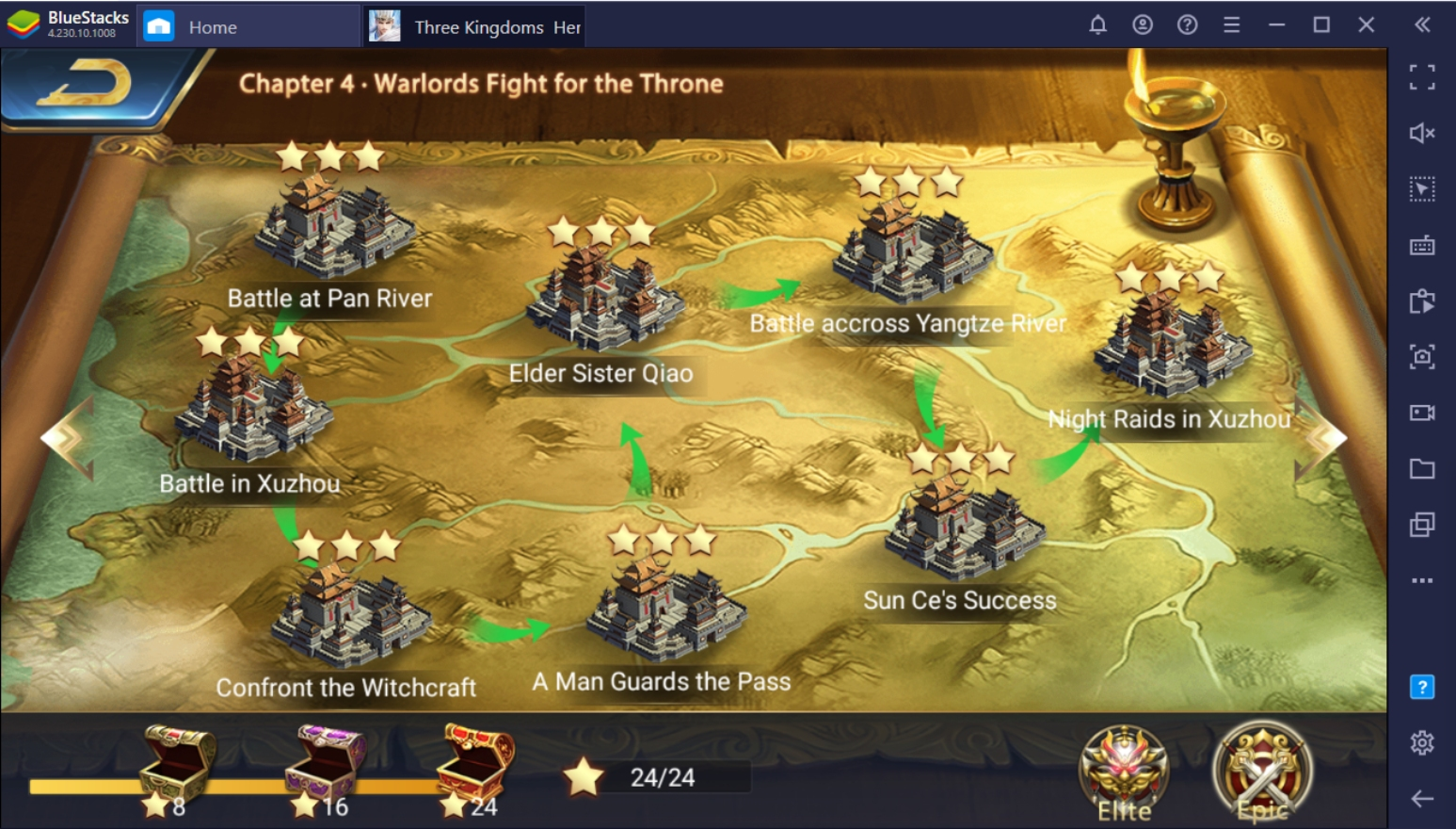 Three Kingdoms: Heroes Saga on PC – Hero Guide
