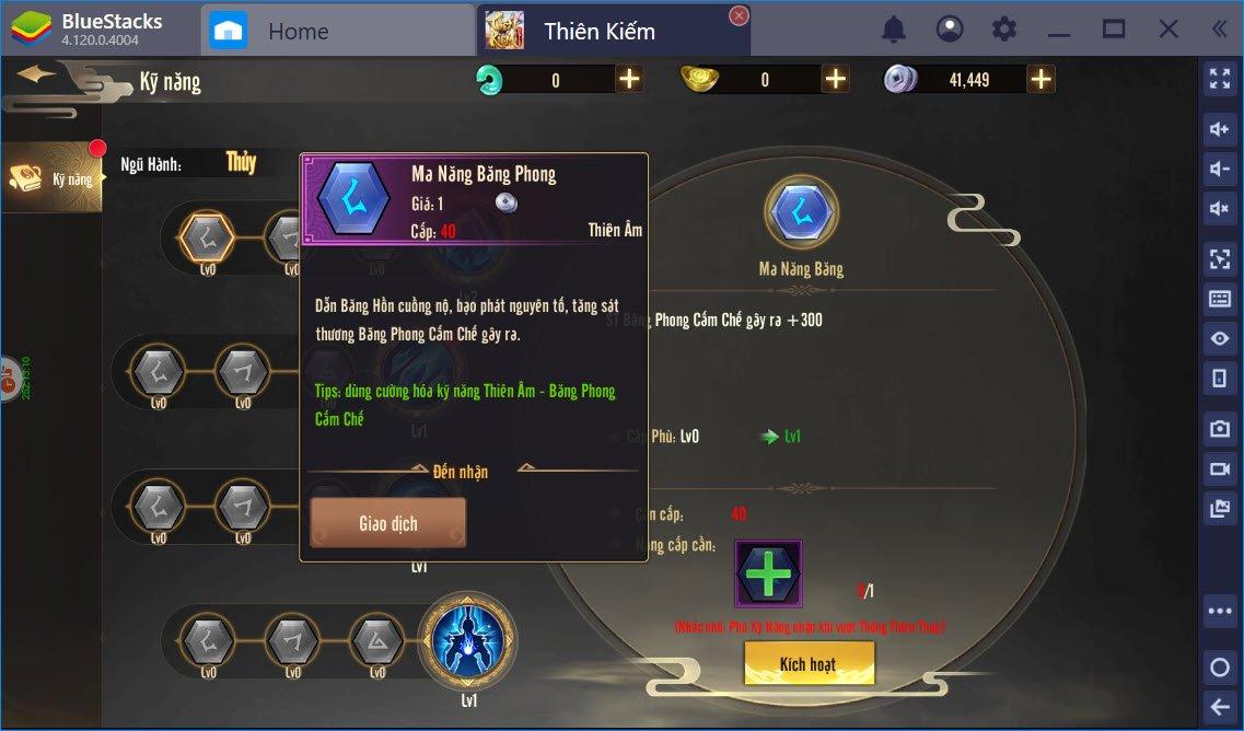 Cẩm nang lựa chọn lục đại môn phái trong Thiên Kiếm Mobile