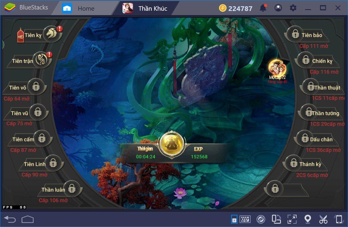 Thần Khúc Mobile: Hướng dẫn nâng cấp tổng thể cho nhân vật