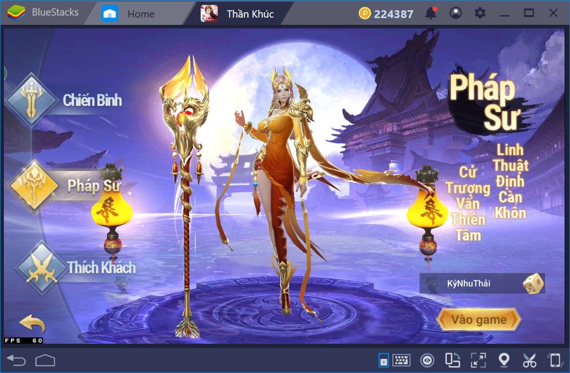 Giới thiệu các nhân vật trong Thần Khúc Mobile