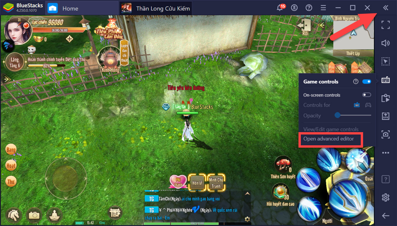 Thần Long Cửu Kiếm: Bí kíp PK trăm trận trăm thắng với tính năng Keymapping