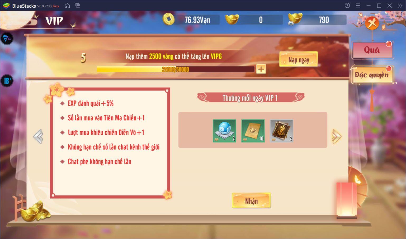Thiên Long Kiếm 2: Mẹo tăng cấp nhanh cho nhân vật và Pet