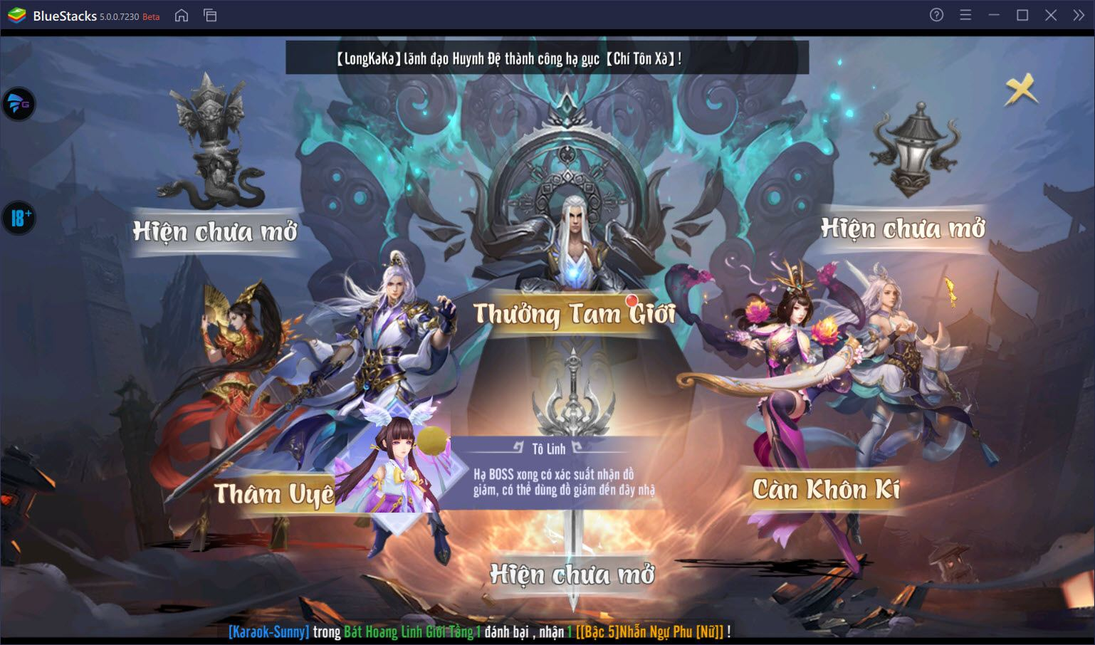 Chơi Thiên Long Kiếm 2, thỏa sức PK cùng BlueStacks trên PC