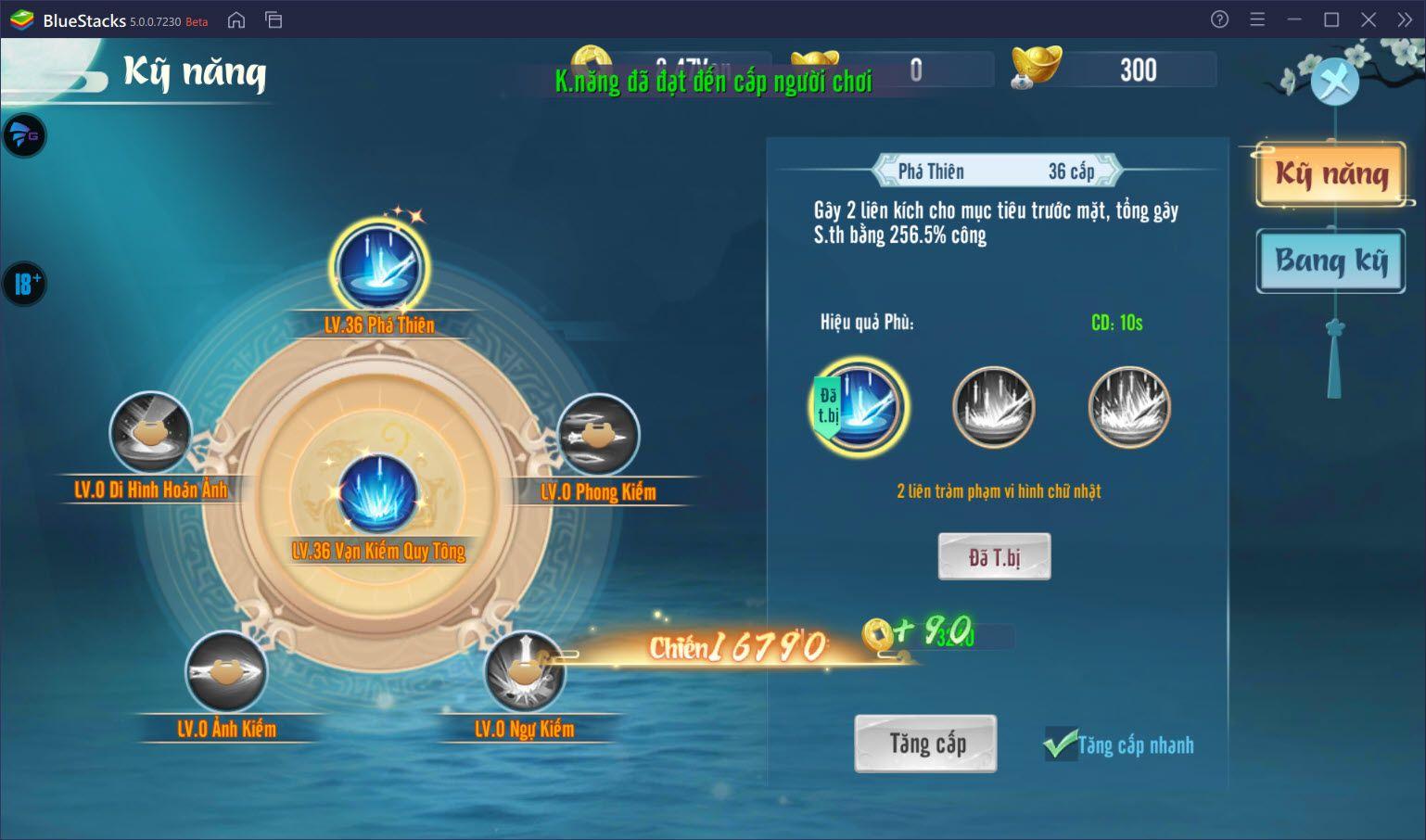 Thiên Long Kiếm 2: Tìm hiểu hệ thống nâng cấp kỹ năng, trang bị