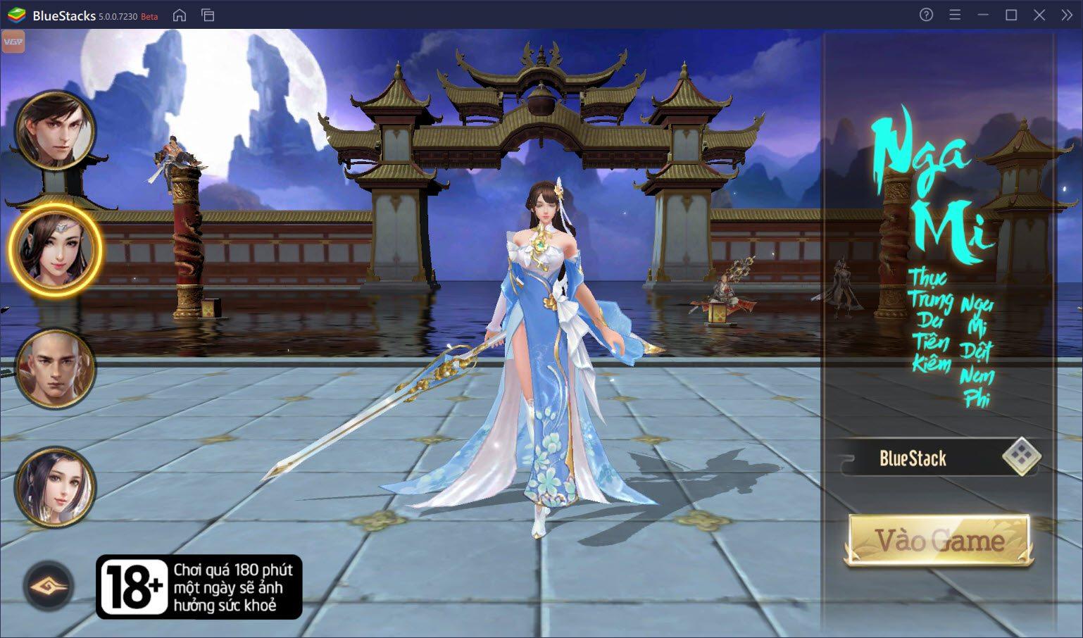 Cùng trải nghiệm game kiếm hiệp 3D hoành tráng Thiên Long Kỳ Hiệp