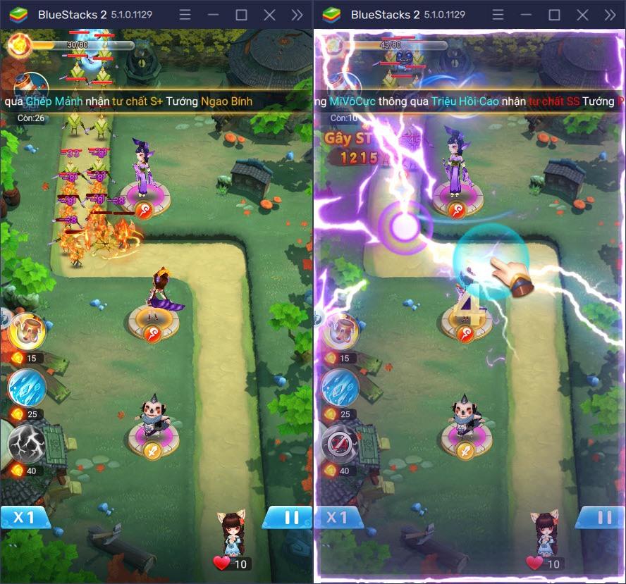 Cùng chơi Tiên Linh Lục, tựa game thủ thành giải trí trên PC