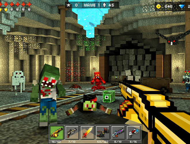 Play Pixel Gun 3D on PC 15