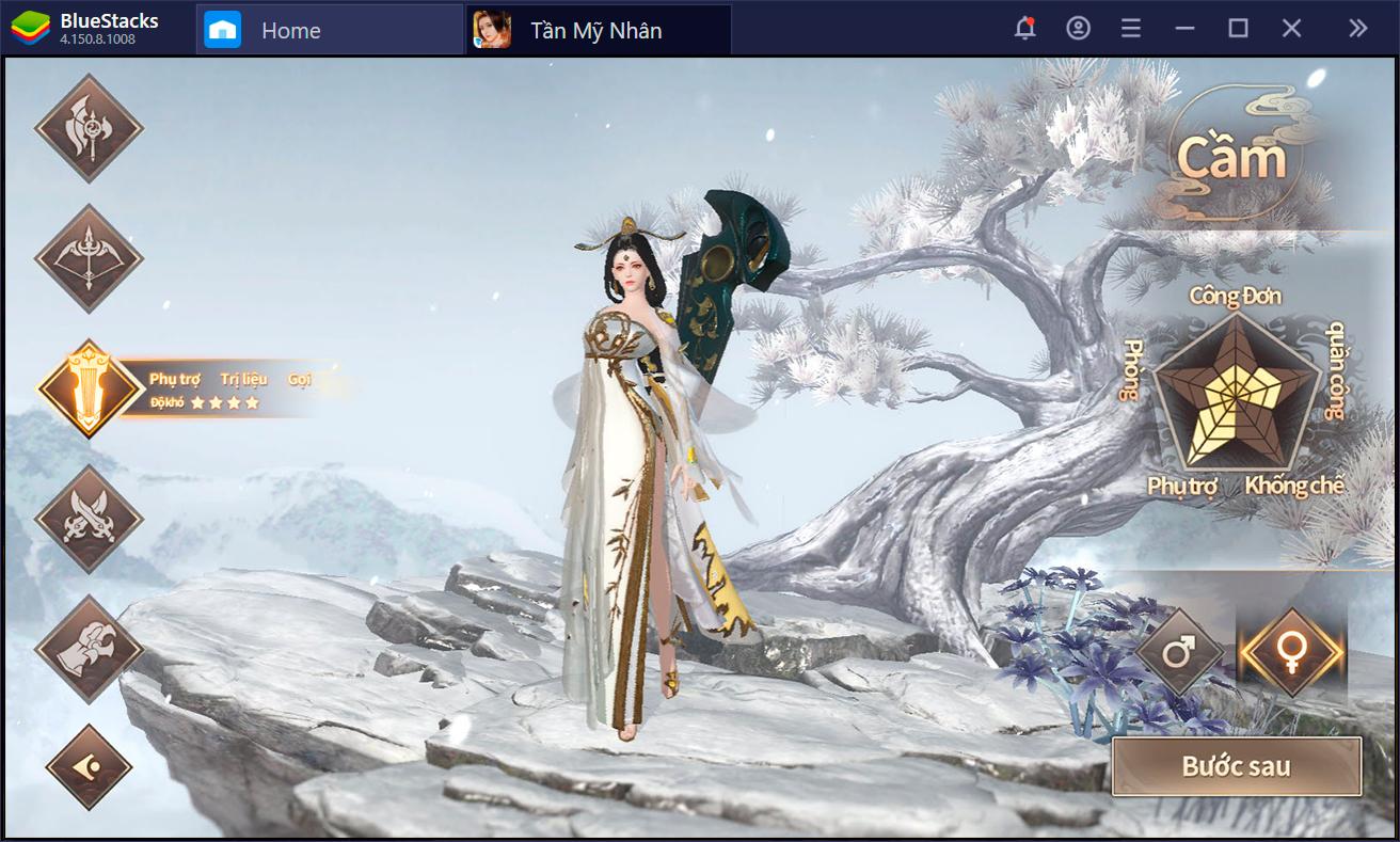 Ngũ đại thần binh trong Tần Mỹ Nhâ: Đâu là lựa chọn của bạn?