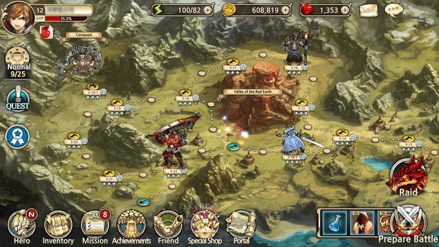 Chơi King's Raid on PC 8
