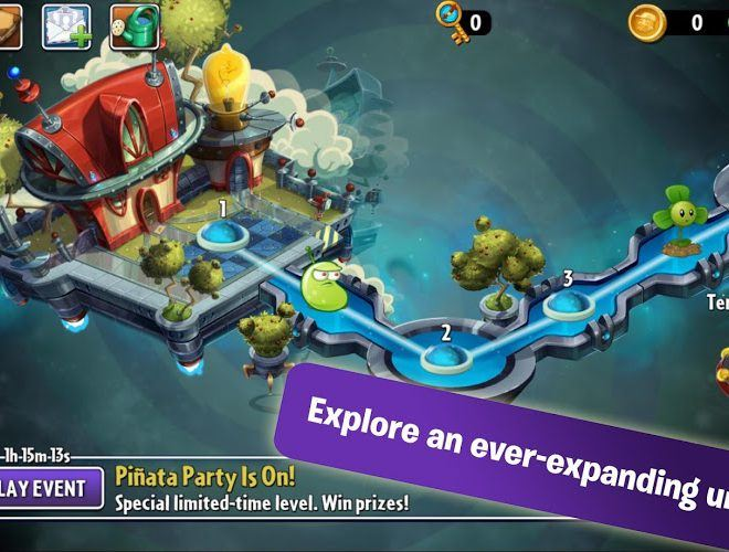 เล่น Plants vs Zombies 2 on PC 3