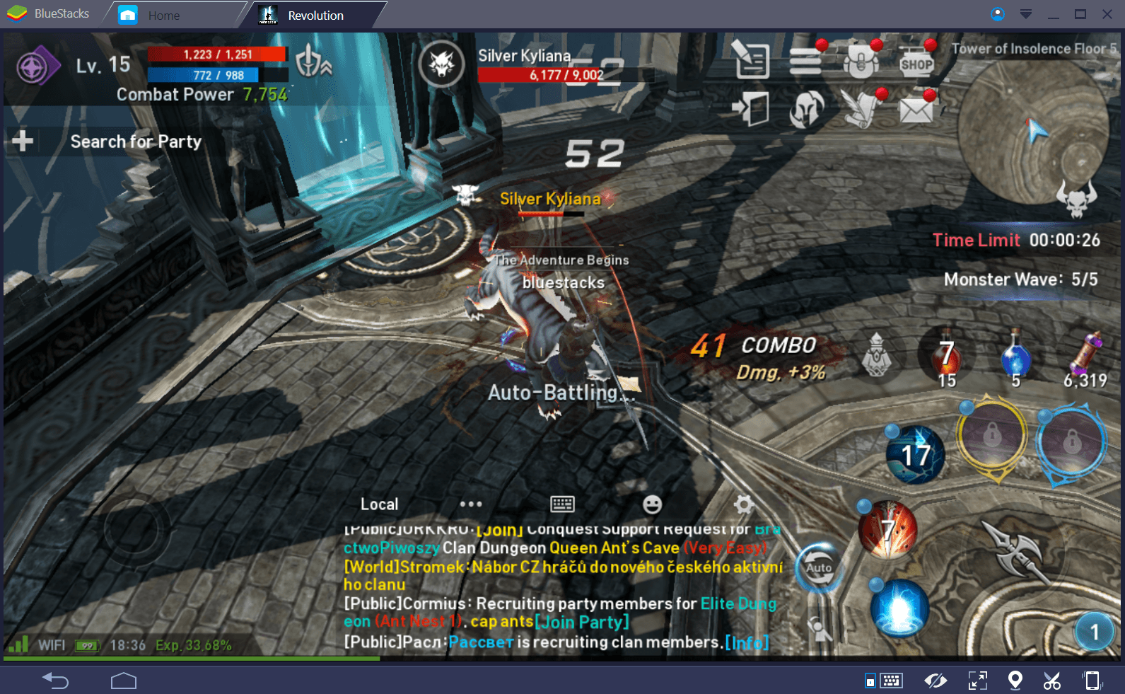 Lineage 2 Revolution Tower of Insolence