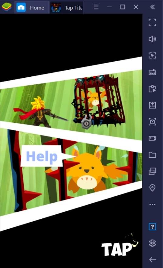 كيف تلعب لعبة Tap Titans 2 على جهاز الكمبيوتر باستخدام BlueStacks