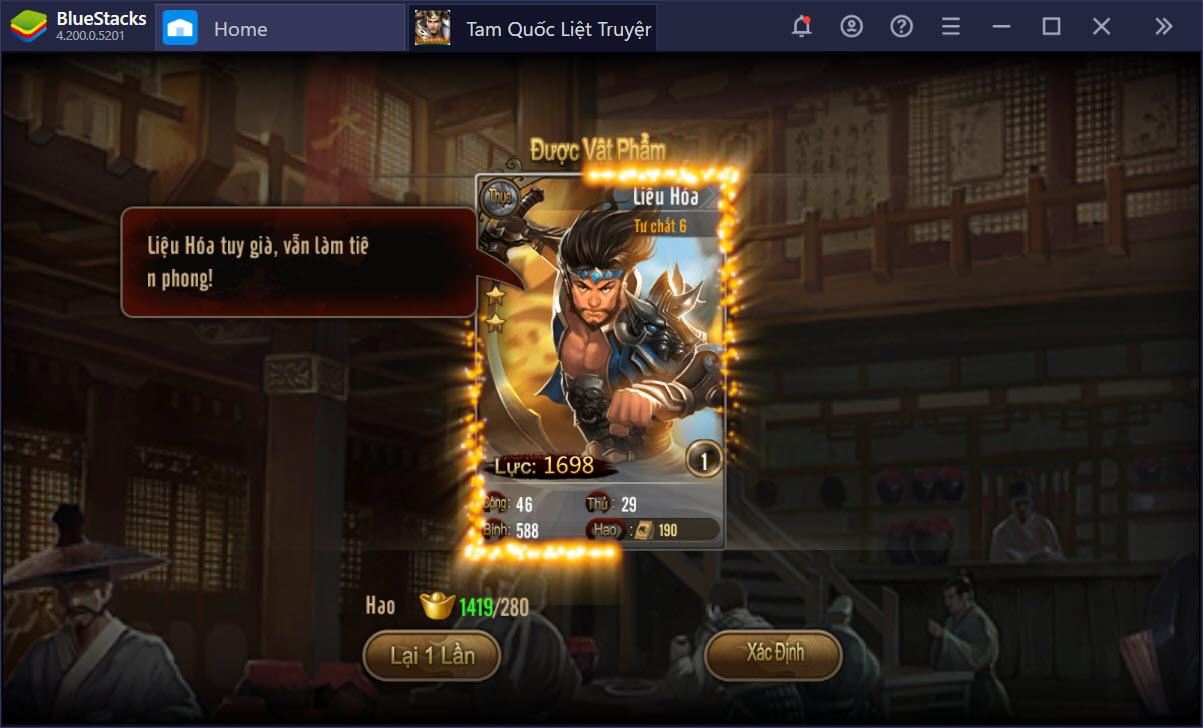 Tam Quốc Liệt Truyện: Chơi giải trí nhưng vẫn trở thành cao thủ, được không?