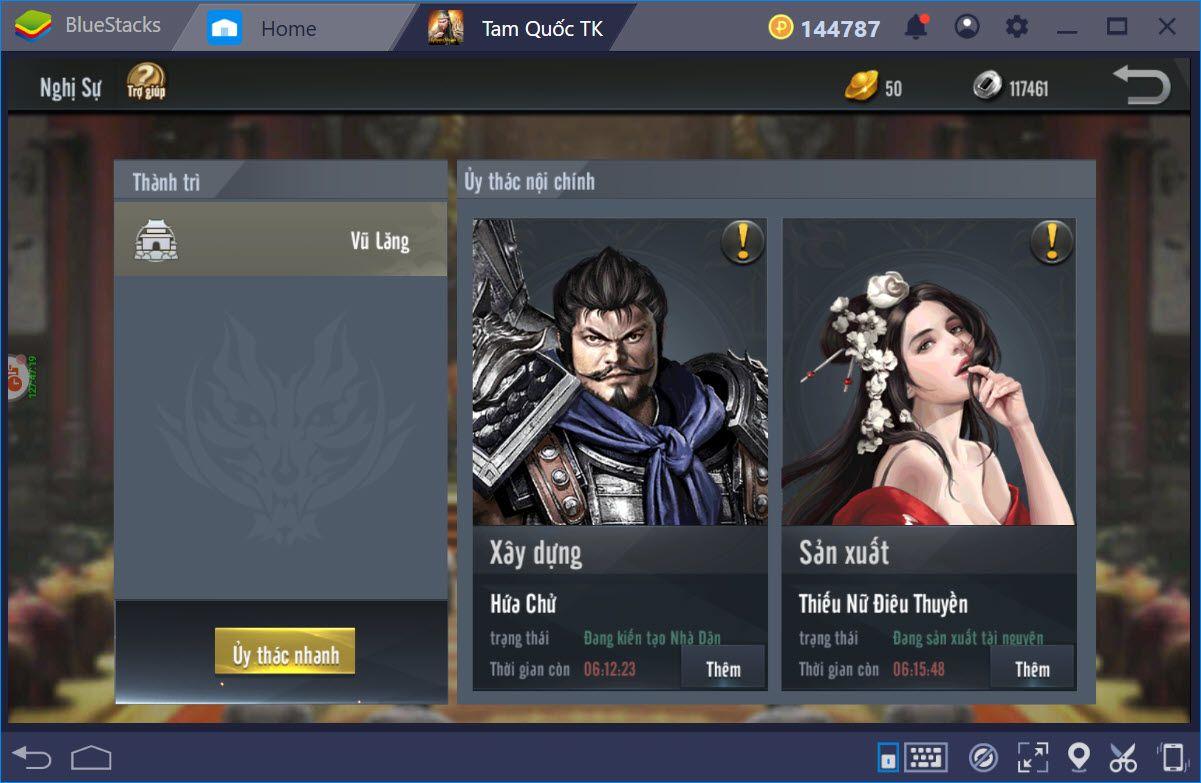 Mẹo chơi Tam Quốc Truyền Kỳ Mobile cho người mới