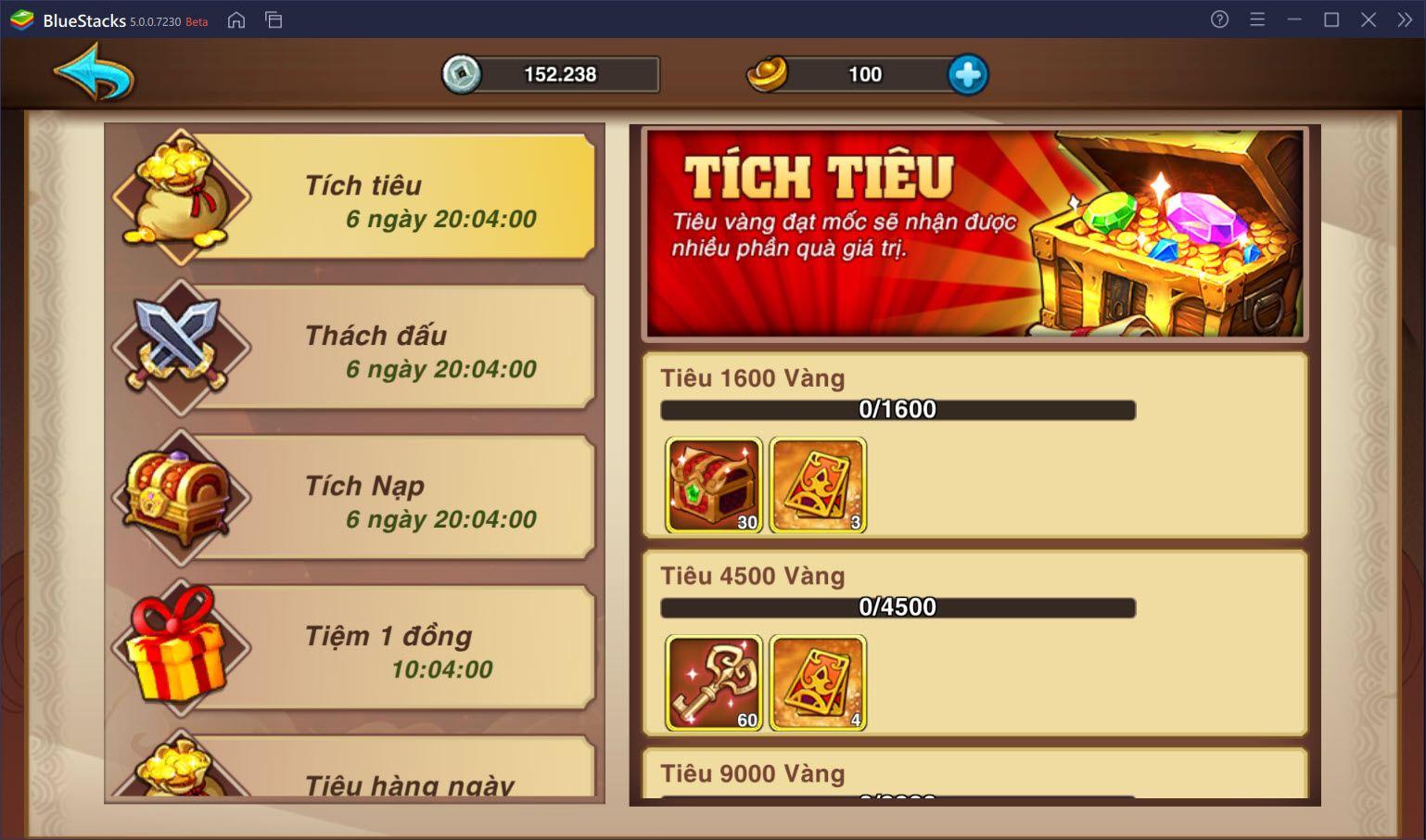 Trải nghiệm Tam Quốc Tranh Phong trên PC với BlueStacks