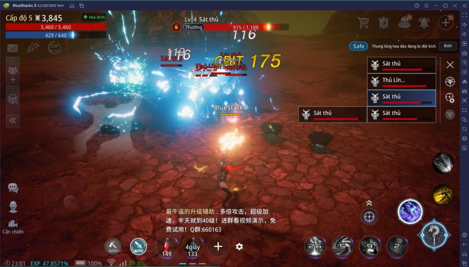 """Cùng chơi """"bom tấn"""" kiếm hiệp MIR4 trên PC với BlueStacks"""