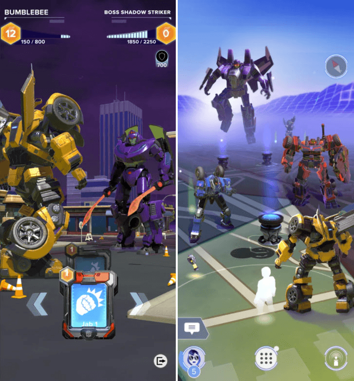 Создатели Pokemon GO анонсировали AR-игру Transformers: Heavy Metal