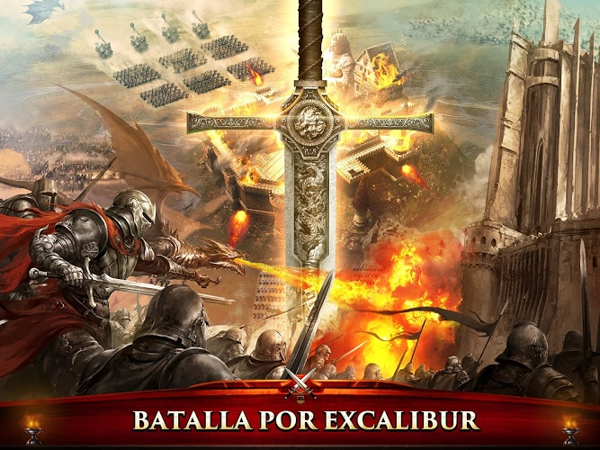 Juega King of Avalon: Dragon Warfare en PC 12