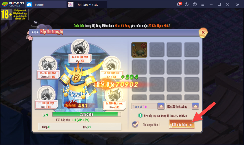 Thợ Săn Ma 3D: Tổng quan các tính năng nâng cấp cho Linh cơ và Hồn Sư