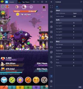 Wie man Tap Titans 2 mit BlueStacks auf dem PC spielt