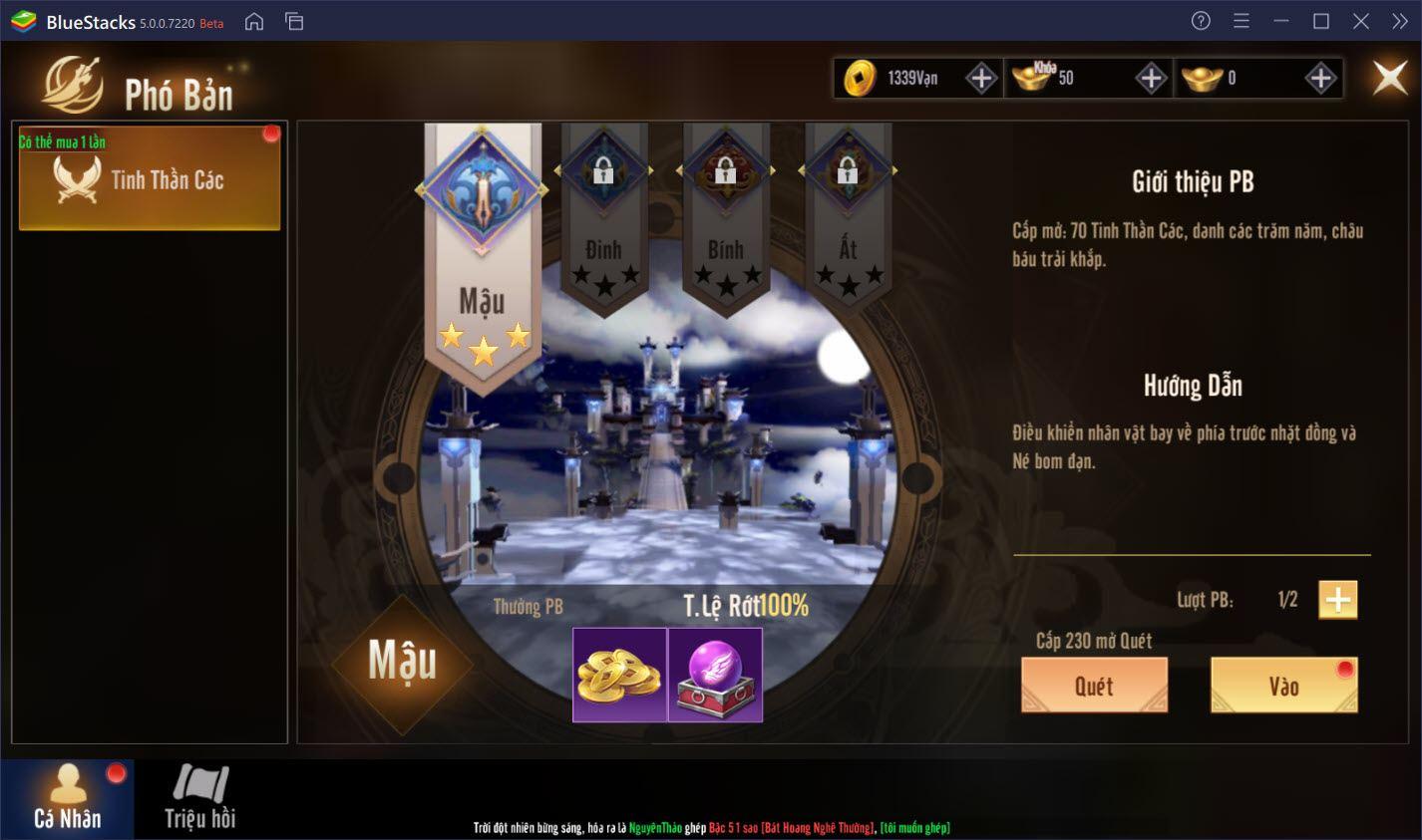 Cùng chơi Tuyệt Thế Chiến Hồn trên PC với BlueStacks