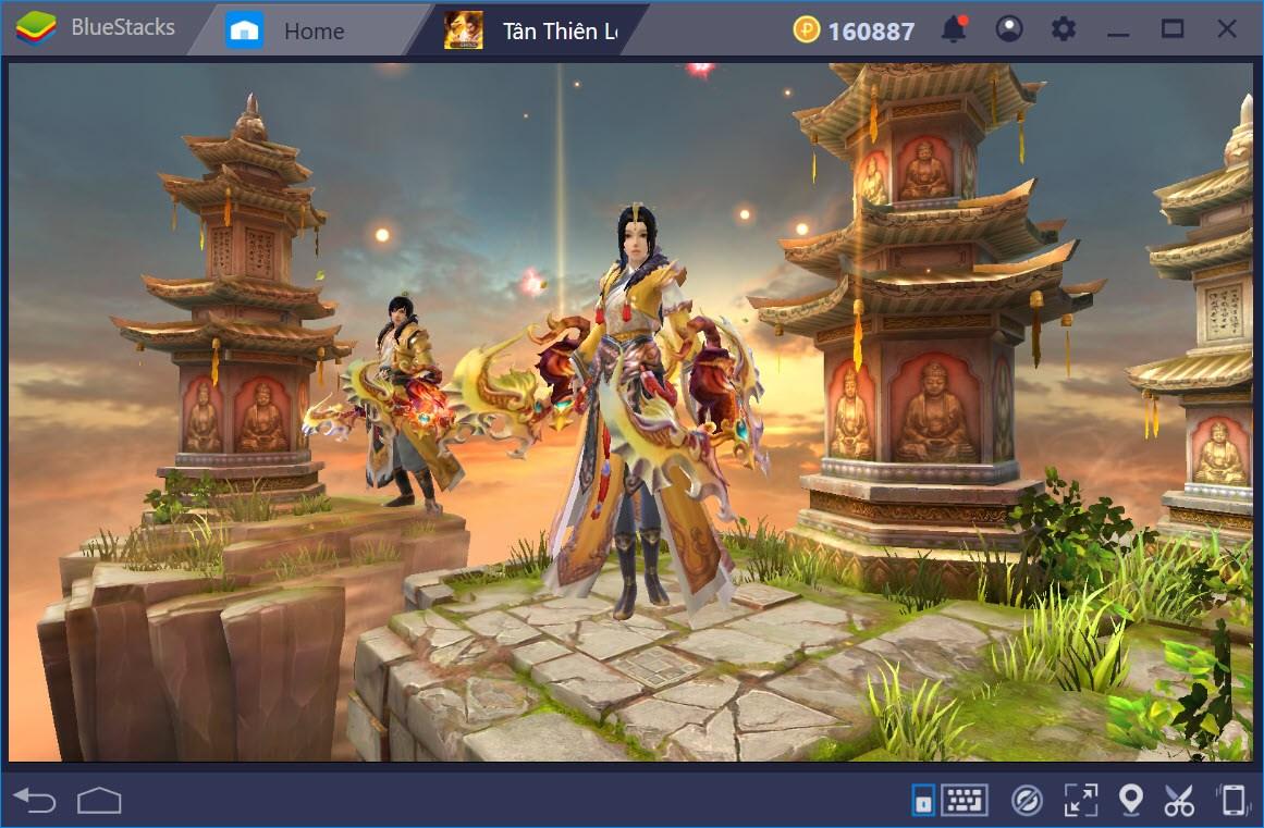Giới thiệu hệ thống ngũ đại môn phái trong Tân Thiên Long Mobile