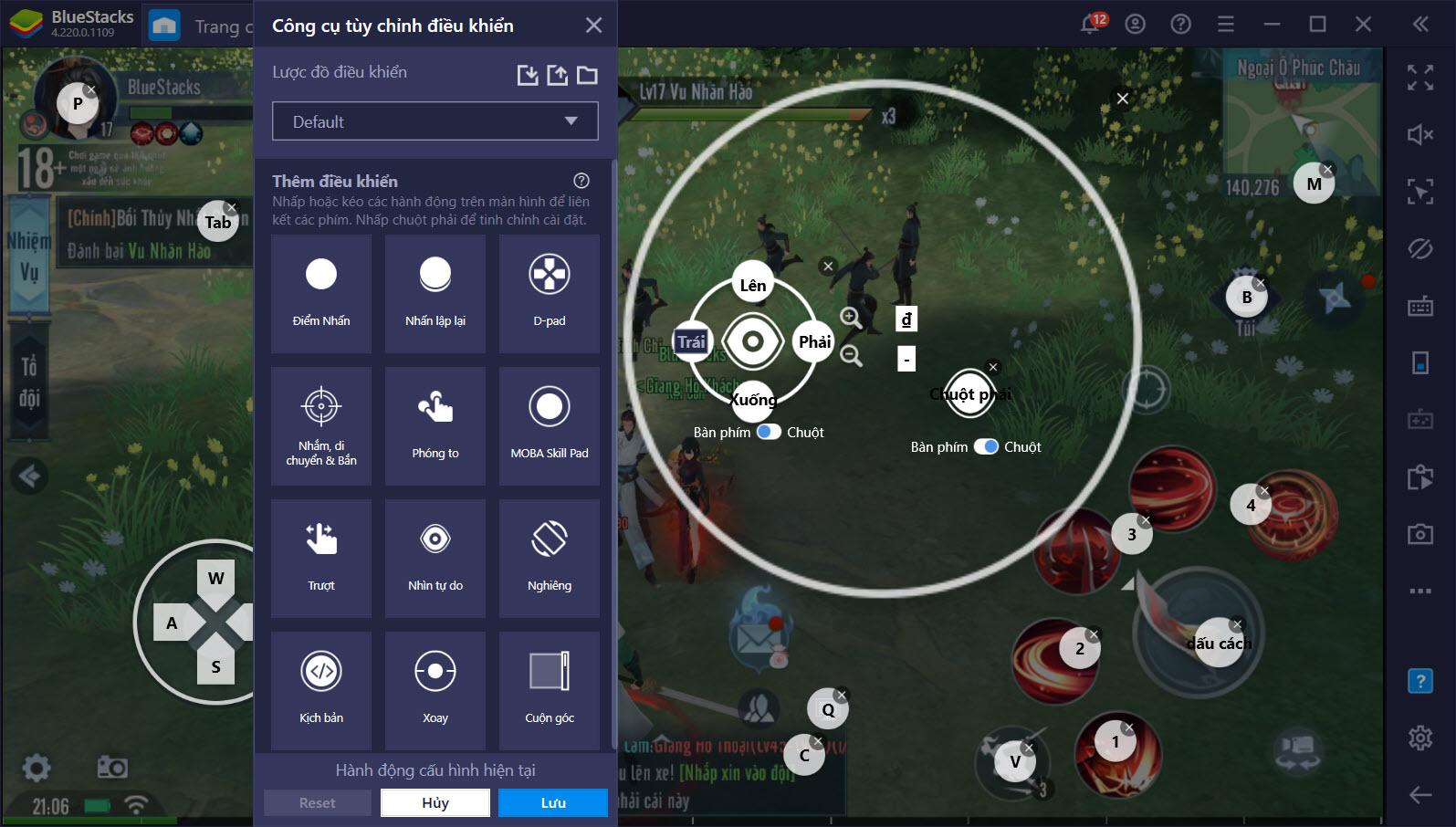 Game Controls, trợ thủ đắc lực của người chơi Tân Tiếu Ngạo VNG