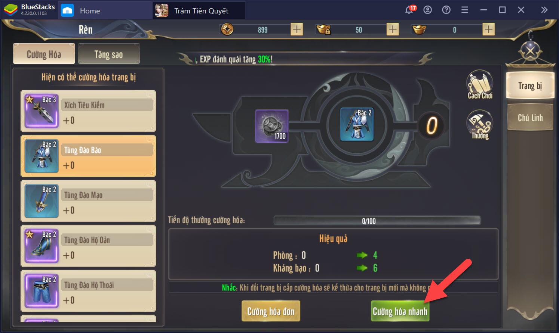 Trảm Tiên Quyết VTC: Mẹo lên cấp nhanh các game thủ nên biết