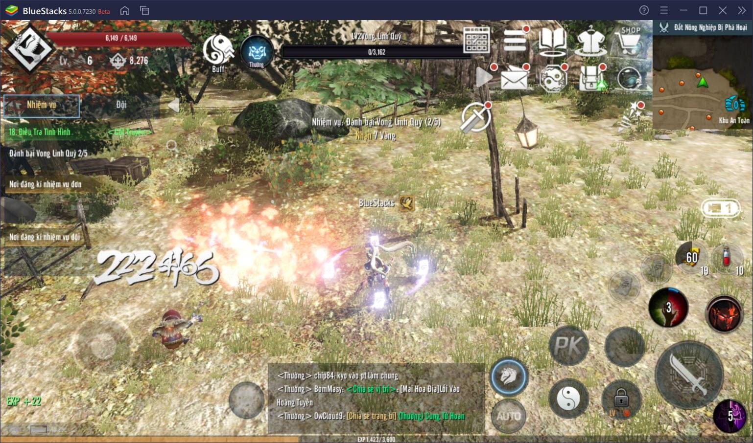 Trải nghiệm Four Gods M – Tứ Hoàng Mobile, tựa game mới lạ đến từ Hàn Quốc