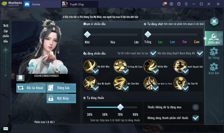 Ứng dụng Keymapping, trở nên bất bại trong Tuyết Ưng VNG