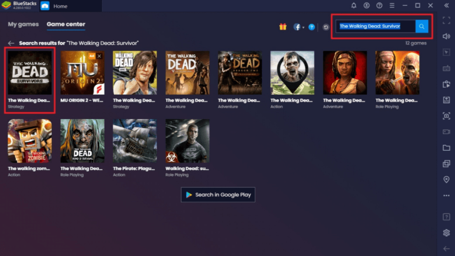 Como jogar The Walking Dead: Survivors no PC usando o BlueStacks
