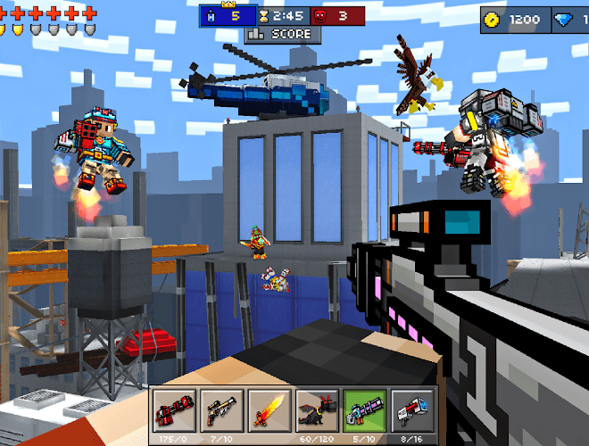 Play Pixel Gun 3D on PC 16