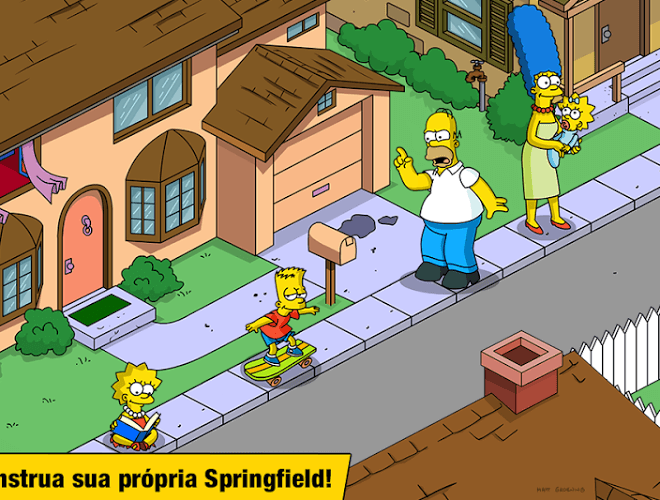 Jogue Simpsons Tapped Out on pc 2