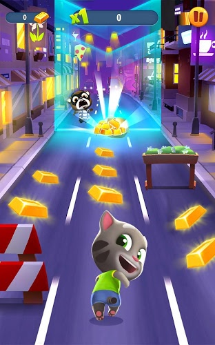 Play Talking Tom Gold Run on PC 7