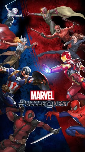 Play Marvel Puzzle Quest on PC 2