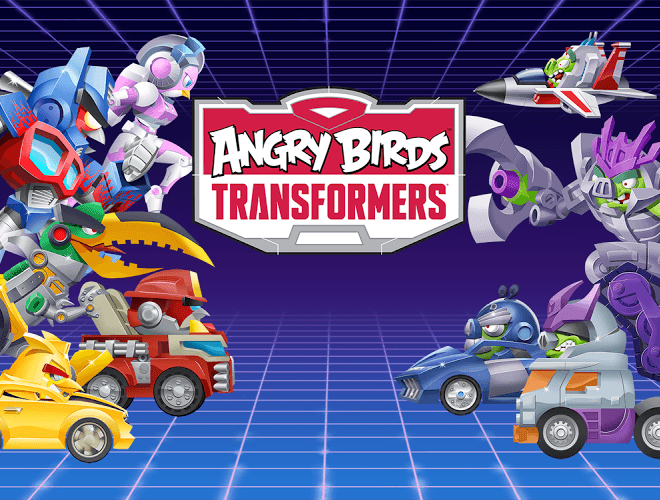 Play Angry Birds Transformers on PC 8