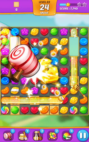 즐겨보세요 Lollipop: Sweet Taste Match 3 on PC 14