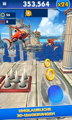 Spiele Sonic Dash auf PC 5