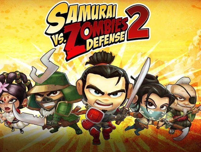 Играй SAMURAI vs ZOMBIES DEFENSE 2 На ПК 2