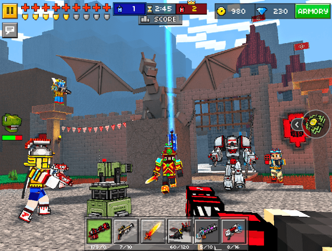 Play Pixel Gun 3D on PC 8
