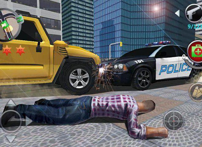 เล่น Grand Gangsters 3D on PC 6