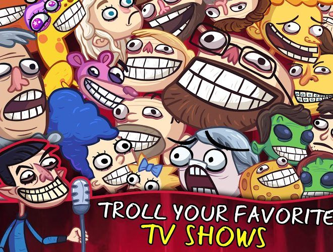 Играй Troll Face Quest TV Shows На ПК 5