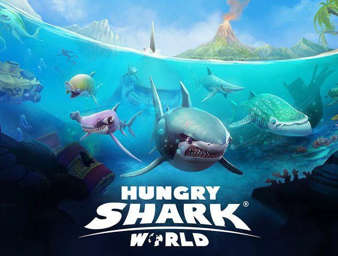 Chơi Hungry Shark World on pc 3
