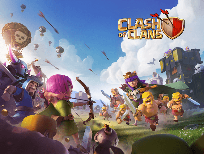 Main Clash of Clans on PC 3