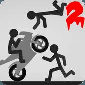 Play Stickman Dismount 2 Annihilation on PC 1