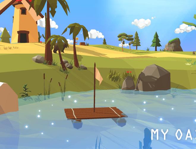 즐겨보세요 마이 오아시스 – 힐링되는 하늘섬 키우기 on PC 4