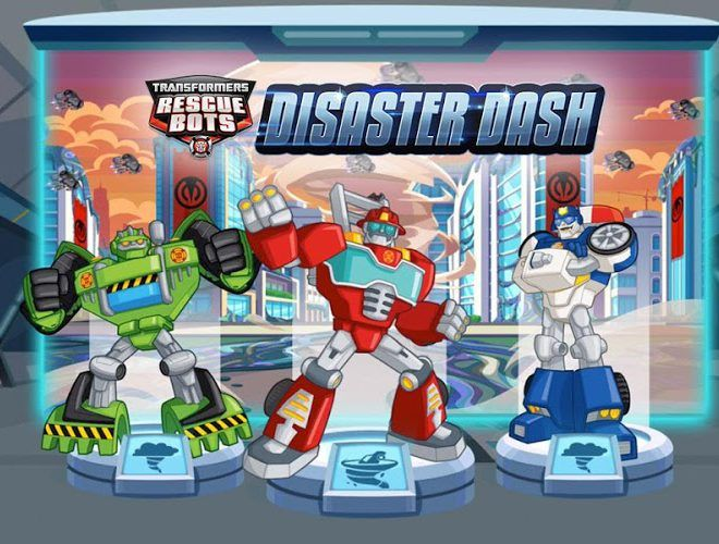 Play Transformers Rescue Bots: Dash on PC 15